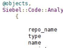 Siebel Code Analyzer