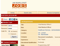 Softbiz Job Board Script