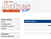 Softbiz Jokes and Funny Pictures Script