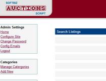 Softbiz Online Auction Script