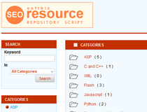 Softbiz Resource Repository Script