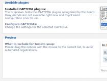 Sortables CAPTCHA Plugin