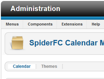 Spider Flash Calendar (Joomla)