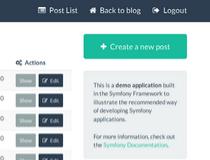 Symfony Demo Application