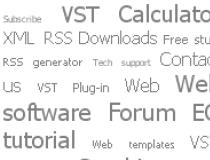 TagCloud-a-like script