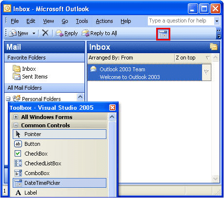 Toolbar Controls .NET for Microsoft Office