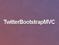 TwitterBootstrapMVC