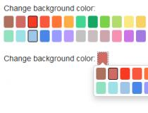 Very simple jQuery Color Picker (Rails)