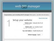 Web Pro Manager