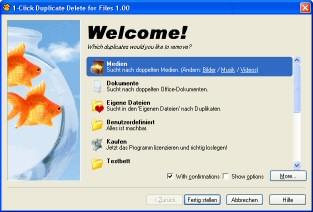 1-Click Duplicate Delete for Files