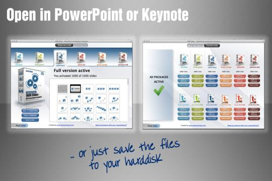 1000 Slides - Templates for PowerPoint and Keynote