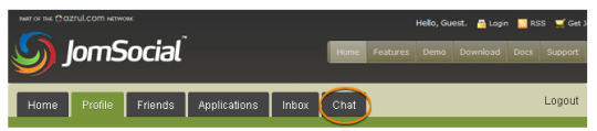 123 Flash Chat Module for Jomsocial