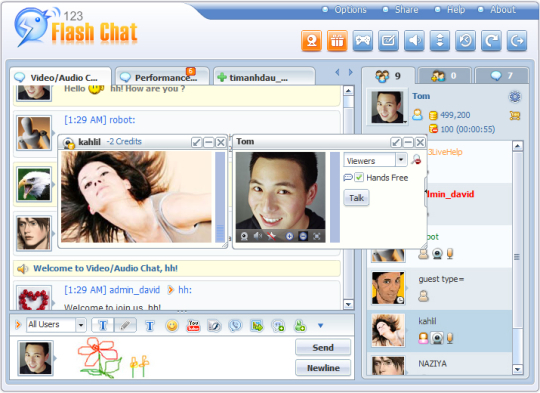 123 Flash Chat Software (64-bit)