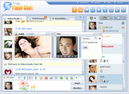 123 Flash Chat Software for Linux (64-bit)