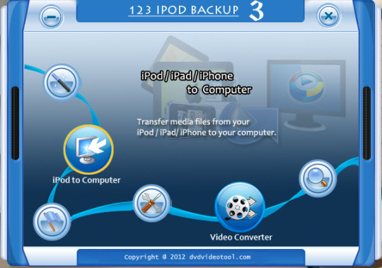 123 iPod iPad iPhone Backup