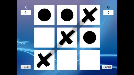 2 Player Tic Tac Toe for Windows 8