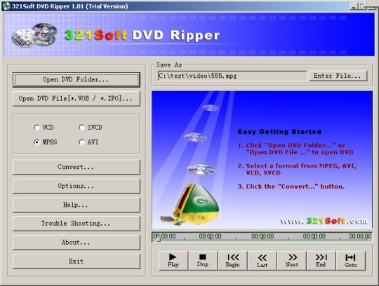 321Soft DVD Ripper