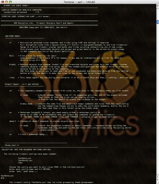 360-FAAR Firewall Analysis Audit Repair