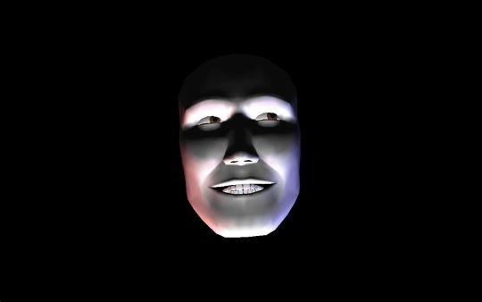 3D Face Screensaver