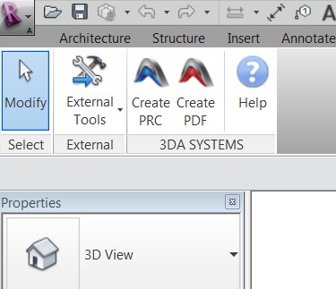3D PDF Converter For Revit
