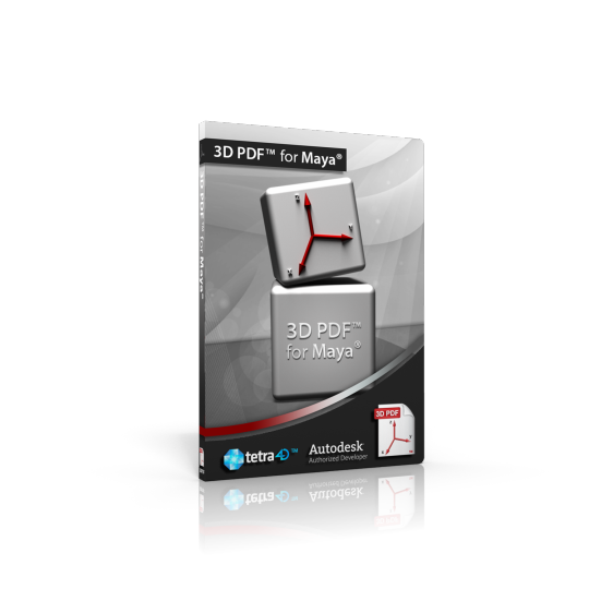 3D PDF for Maya 2013