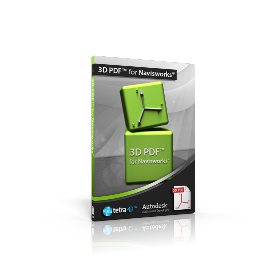 3D PDF for Navisworks 2013