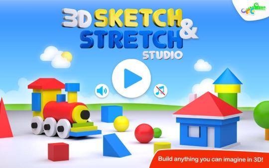 3D Sketch and Stretch Studio