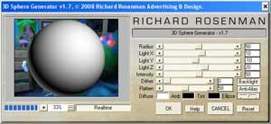 3D Sphere Generator