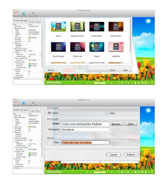 3DPageFlip Standard for Mac