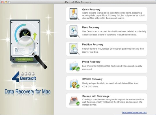 4Bestsoft Data Recovery (Mac)