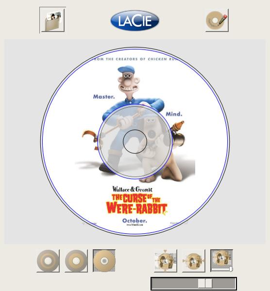 4L: LaCie LightScribe Labeler for Linux