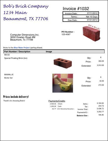 4LightData Invoices
