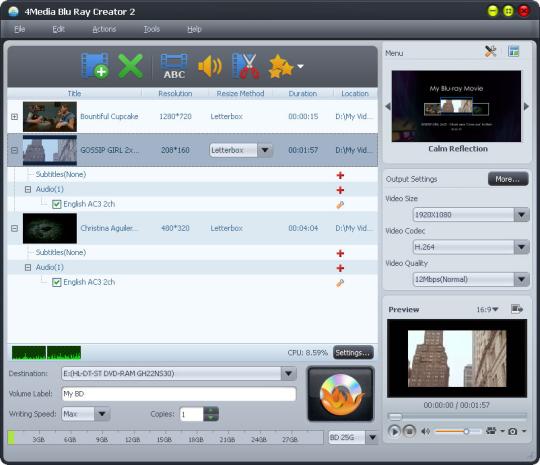 4Media Blu-Ray Creator