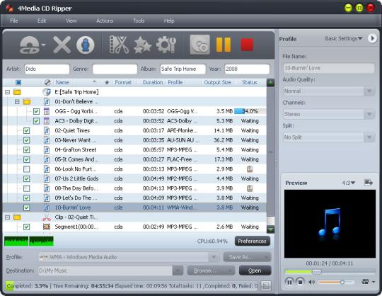 4Media CD Ripper