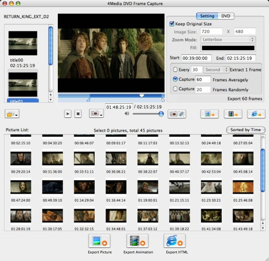 4Media DVD Frame Capture