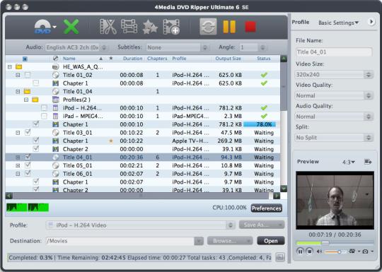 4Media DVD Ripper Ultimate SE
