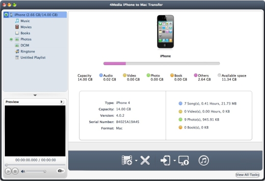 4Media iPhone Software Suite
