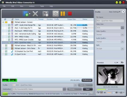 4Media iPod Video Converter