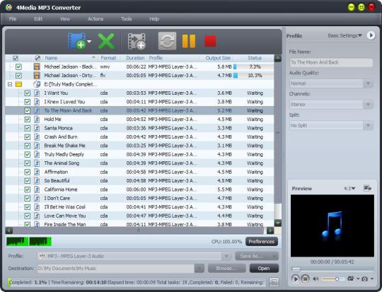 4Media MP3 Converter