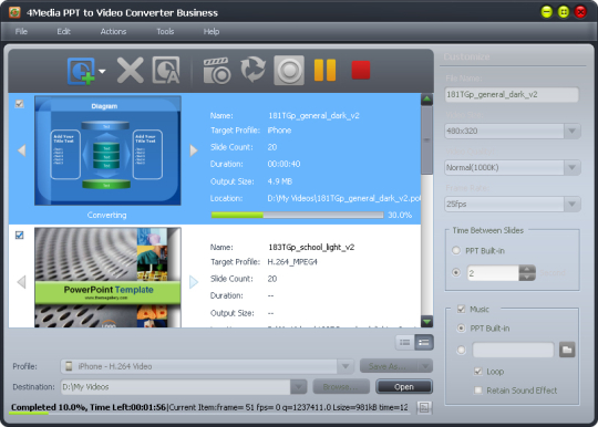 4Media PPT to Video Converter Personal