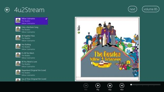 4u2Stream for Windows 8