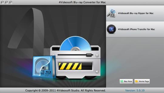 4Videosoft Bluray Converter for Mac