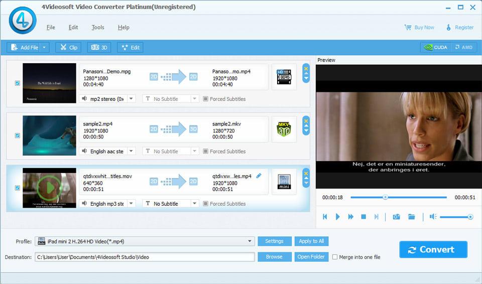 4Videosoft Convertisseur Video Platinum
