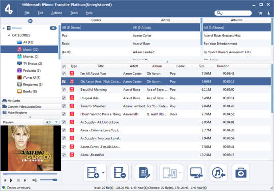 4Videosoft iPhone Transfer Platinum