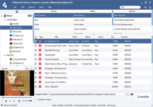 4Videosoft iPod to Computer Transfer Ultimate