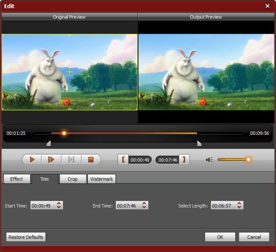 4Videosoft TRP Video Converter
