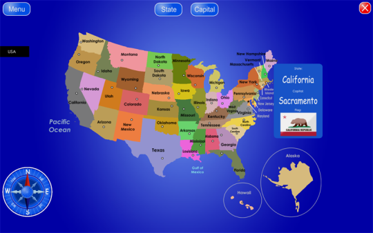 50 States and Capitals
