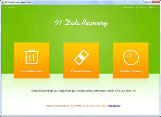 91 Data Recovery