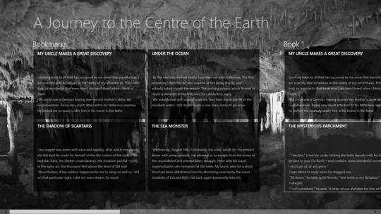 A Journey to the Centre of the Earth by Jules Verne for Windows 8
