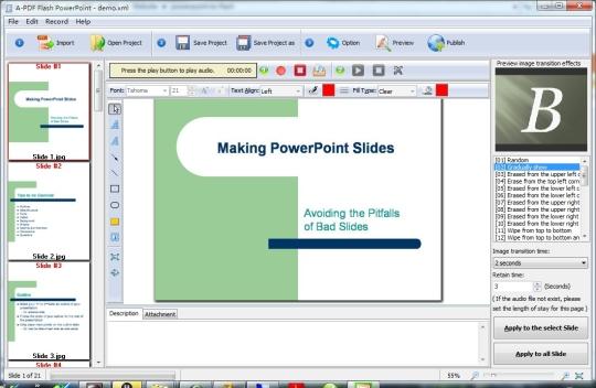 A-PDF Flash PowerPoint